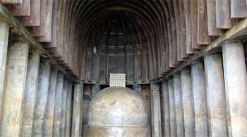 Thers karle - bhaje caves are considered to be ultimate expression of Satwahan art of Hinayana sculpture.